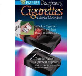 caja de cigarrillos desaparición