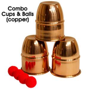 cubiletes de cobre con chop cup disponibles en Magia Estudio