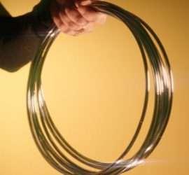 Los aros chinos son uno de los clásicos por excelencia de la magia de salón