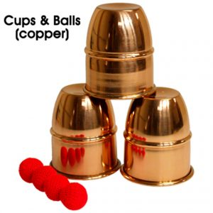 cubiletes de cobre disponibles en Magia Estudio