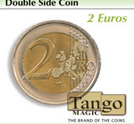 Moneda de doble cara de 2 euros disponible en Magia Estudio