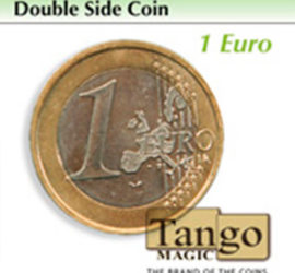 Moneda de doble cara de 1 euro disponible en Magia Estudio