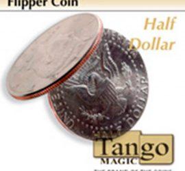 Moneda flipper de medio dólar disponible en magia estudio