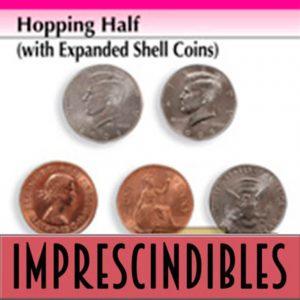 Hopping Half de medio dólar disponible en Magia Estudio