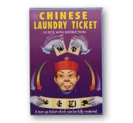 Ticket de lavanderia en Magia Estudio