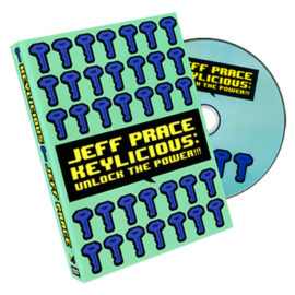 Keylicious de Jeff Prace disponible en Magia Estudio