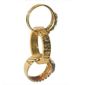 anillo himber, magia estudio, magiaestudio.com, tienda online, anillo dorado, tienda de magia en madrid