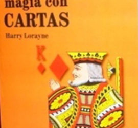 Magia con cartas disponible en Magia Estudio