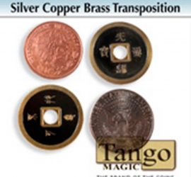 silver, copper brass, transposición disponible en Magia Estudio