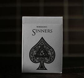 Baraja de colección Sinners disponible en Magia Estudio