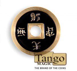 Moneda china en varios colores disponible en Magia Estudio