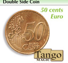 Moneda doble cara de 50 céntimos disponible en Magia Estudio