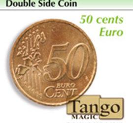 Moneda doble cara de 50 céntimos disponible en Magia Estudio