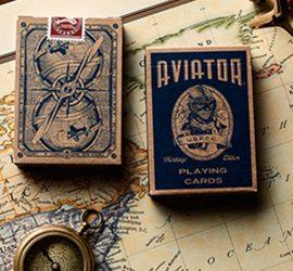 Baraja Aviator Heritage disponible en Magia Estudio