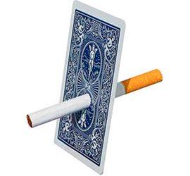 cigarrillo a través de la carta disponible en Magia Estudio