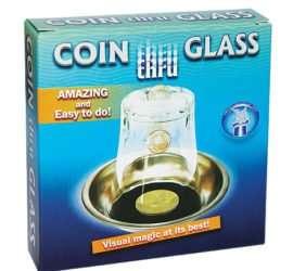 Moneda que atraviesa el vaso en Magia Estudio