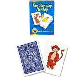 mono hambriento en magia estudio