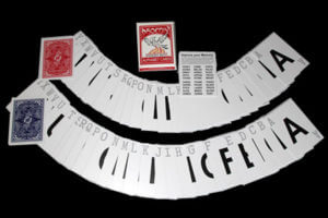 alphabet deck en magia estudio