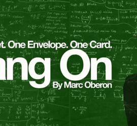 Bang On de MArc Oberon. Una maravilla con carta pensada en Magia Estudio
