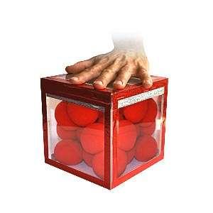 caja de aparición de cristal disponible en Magia Estudio