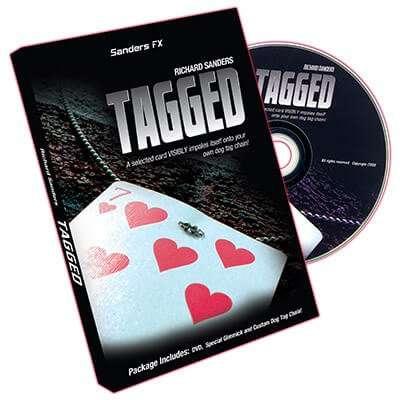 tagged, de Richard Sanders disponible en Magia Estudio