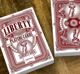 Liberty, baraja de colección disponible en Magia Estudio