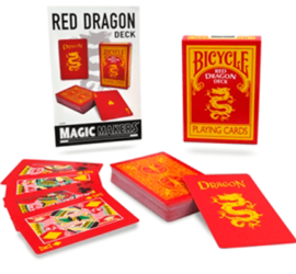 Red Dragon, baraja de colección disponible en Magia Estudio