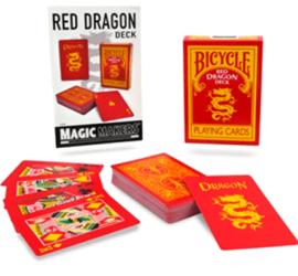 Red Dragon, baraja de colección disponible en Magia Estudio