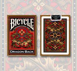 Bicycle Dragon Back, baraja de colección disponible en Magia Estudio