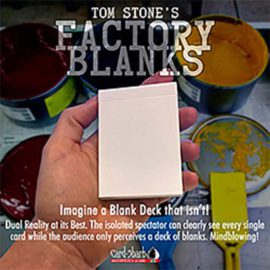 Factory Blanks Tom Stone