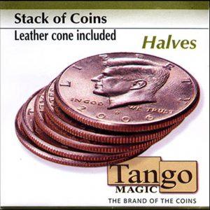 Taco de monedas de medio dólar disponible en Magia Estudio