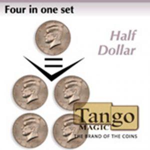 Set cuatro en uno, medio dólar, disponible en Magia Estudio