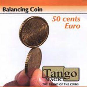 La moneda equilibrista disponible en Magia Estudio