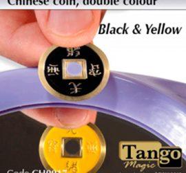 Moneda china de dos colores disponible en Magia Estudio