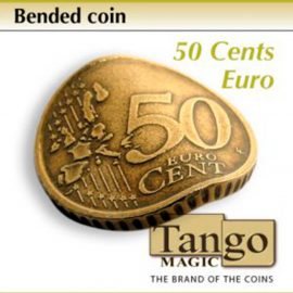 Moneda doblada de 50 céntimos disponible en Magia Estudio