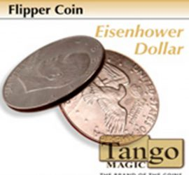 Moneda Flipper dólar Eisenhower disponible en Magia Estudio