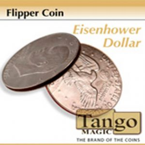 Moneda Flipper dólar Eisenhower disponible en Magia Estudio