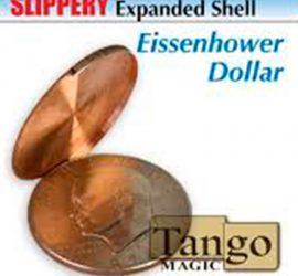 Cascarilla deslizante dólar Eisenhower disponible en Magia Estudio