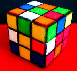 cubo rubik esponja