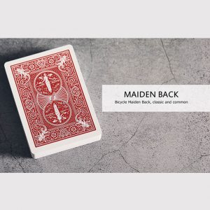 Baraja Bicycle Maiden Back disponible en Magia Estudio
