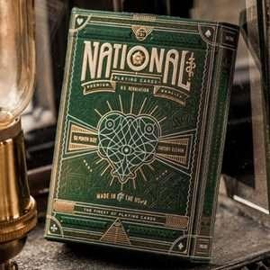 National, baraja de colección, creada por Theory11 disponible en Magia Estudio
