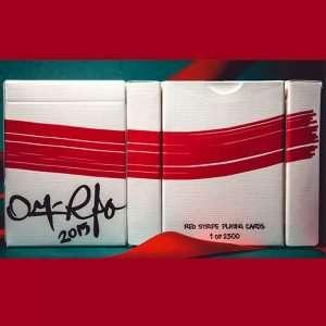 Red Stripe, baraja de colección disponible en Magia Estudio