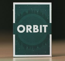 Sexta edición de la baraja Orbit, disponible en Magia Estudio
