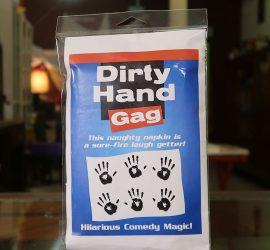gag-manos sucias